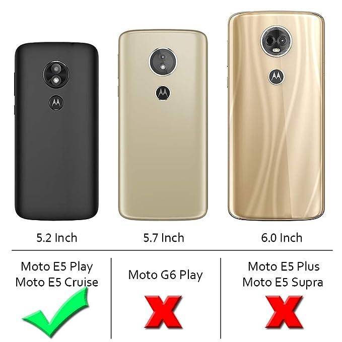 cheap for discount 56c82 015b6 Moto E5 Play Case, Moto E5 Cruise Case,Suensan TPU Shock Absorption  Technology Raised Bezels Protective Case Cover for Motorola Moto E5 Play  2018 ...