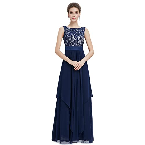 Ever-Pretty Elegant Sleeveless Round Neck Party Evening Dress 08217