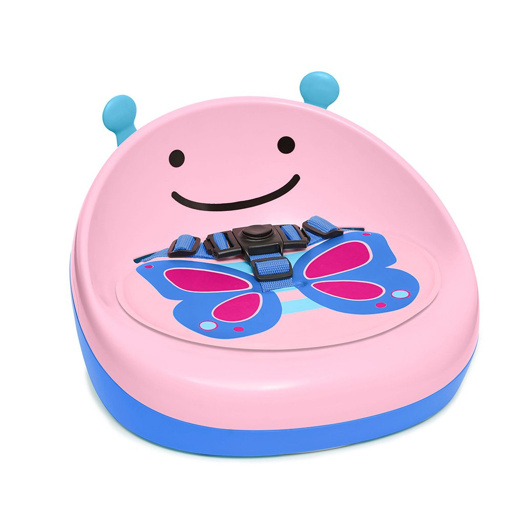 Skip Hop Zoo Booster Seat, Pink Butterfly by Skip Hop