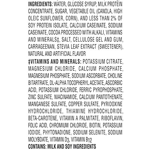 Boost High Protein Ingredients