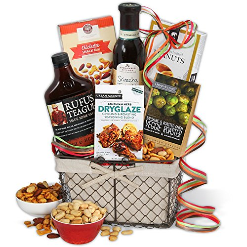 GourmetGiftBaskets The Barbecue Boss Gift Basket (Bbq Veggie Roasters compare prices)