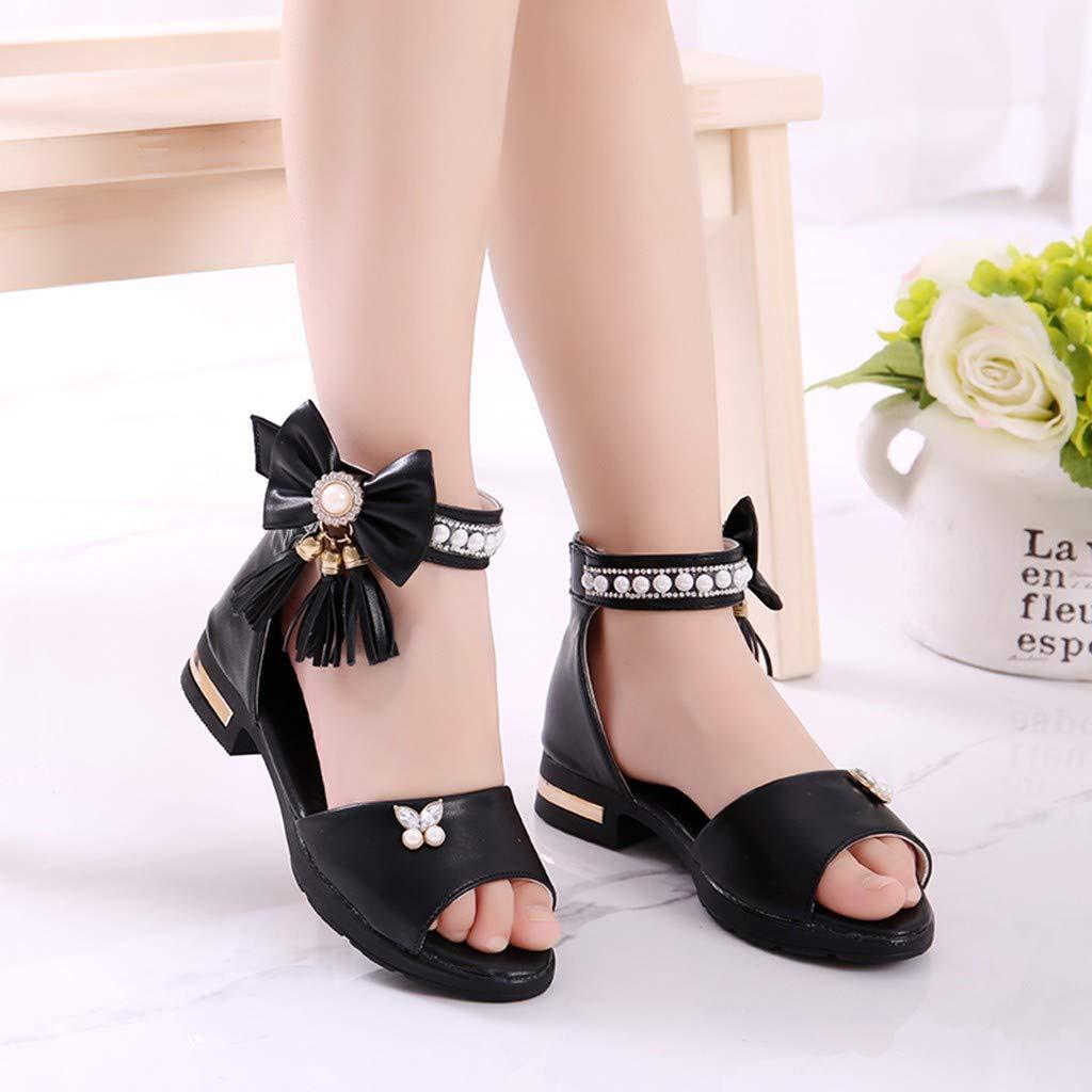 b33763469f763 Amazon.com: Luonita Infant Kids Baby Girls Strappy Gladiator Sandals ...