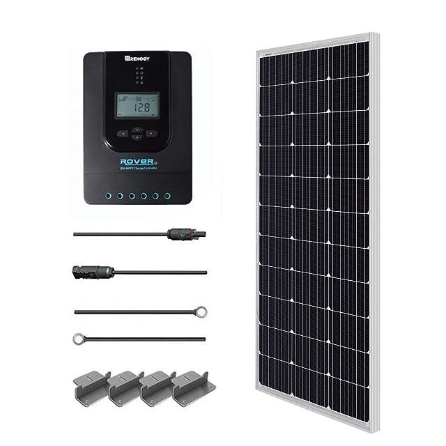 Renogy 100W 12V Monocrystalline Solar Starter