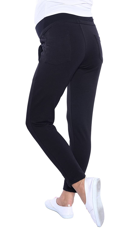 e52cb7ec696f7 Mija - Maternity Casual Comfortable 7/8 Trousers Pants Over Bump 4059:  Amazon.co.uk: Clothing