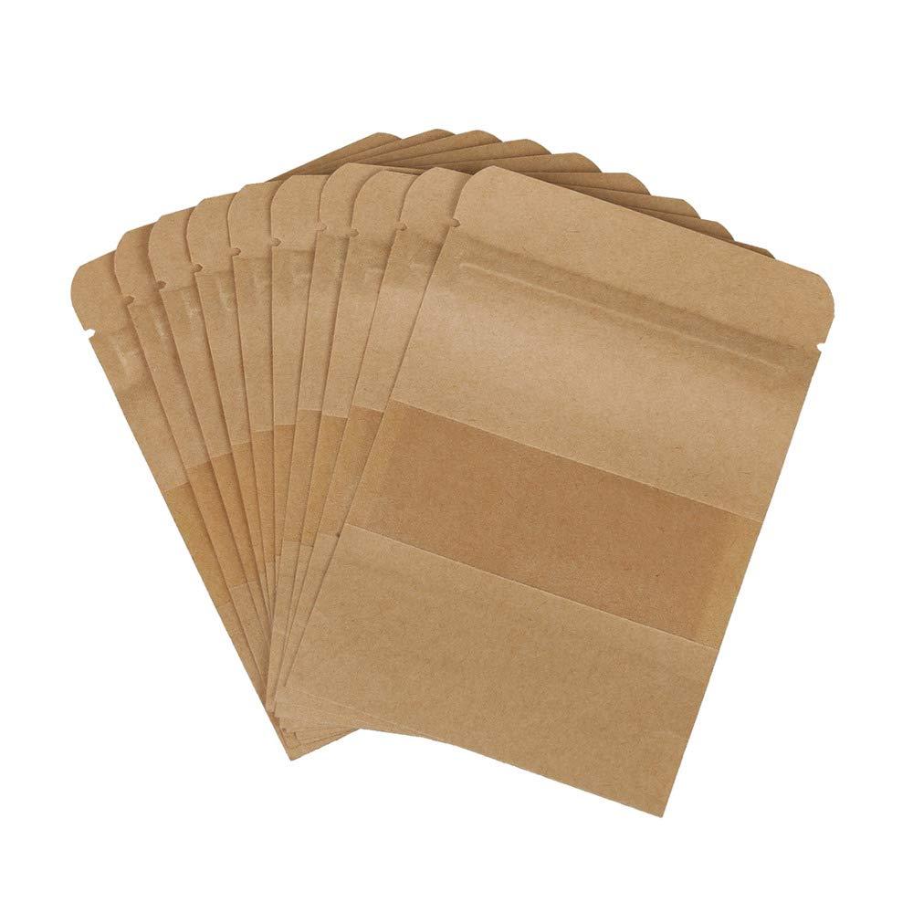 kentop 100stk bolsas de papel de estraza Bolsa con ...