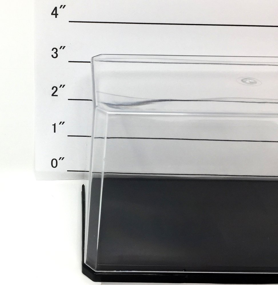 Acrylic Collection Display Case// Stand for Mini Figure Flat Type
