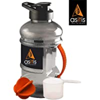 AS-IT-is Shaker Bottle | with Mixer Ball & Scoop | BPA Free