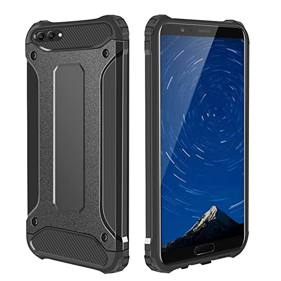 best loved 54f8d 50e56 Huawei Honor V10 Case, Jiunai Drop Protection Heavy Duty Shell Hybrid Hard  Back Cover + TPU Shockproof Protective Case Phone Armor for Huawei Honor ...