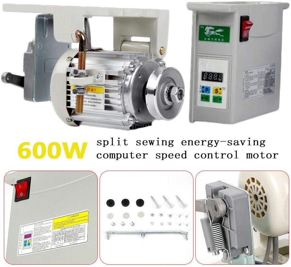 600W Máquina de coser industrial servomotor con motor de embrague ...