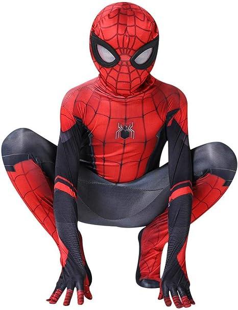 AZITEKE - Disfraz de Spiderman, unisex, para adultos y niños, con ...