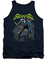 Batman DC Comics Nightwing Adult Tank Top Shirt