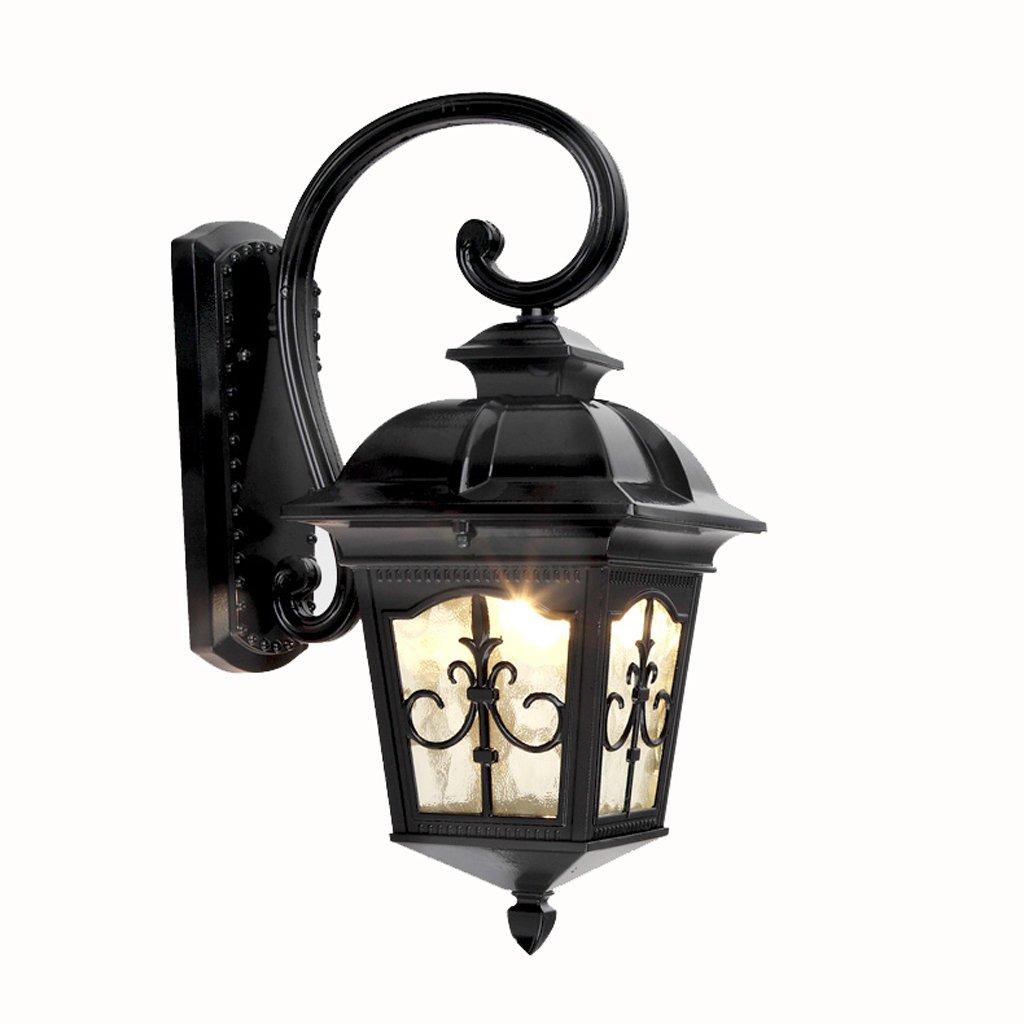 Unbekannt SKC Lighting-Wandlampe European Style Outdoor Wasserdichte Wand Lampe Patio Balkon Korridor Outdoor Villa Retro Einfache Licht (Größe   Größe)