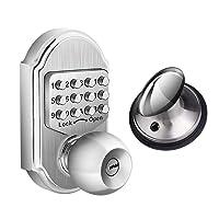 Deals on Elemake Keyless Entry Door Lock Deadbolt Keypad Mechanical