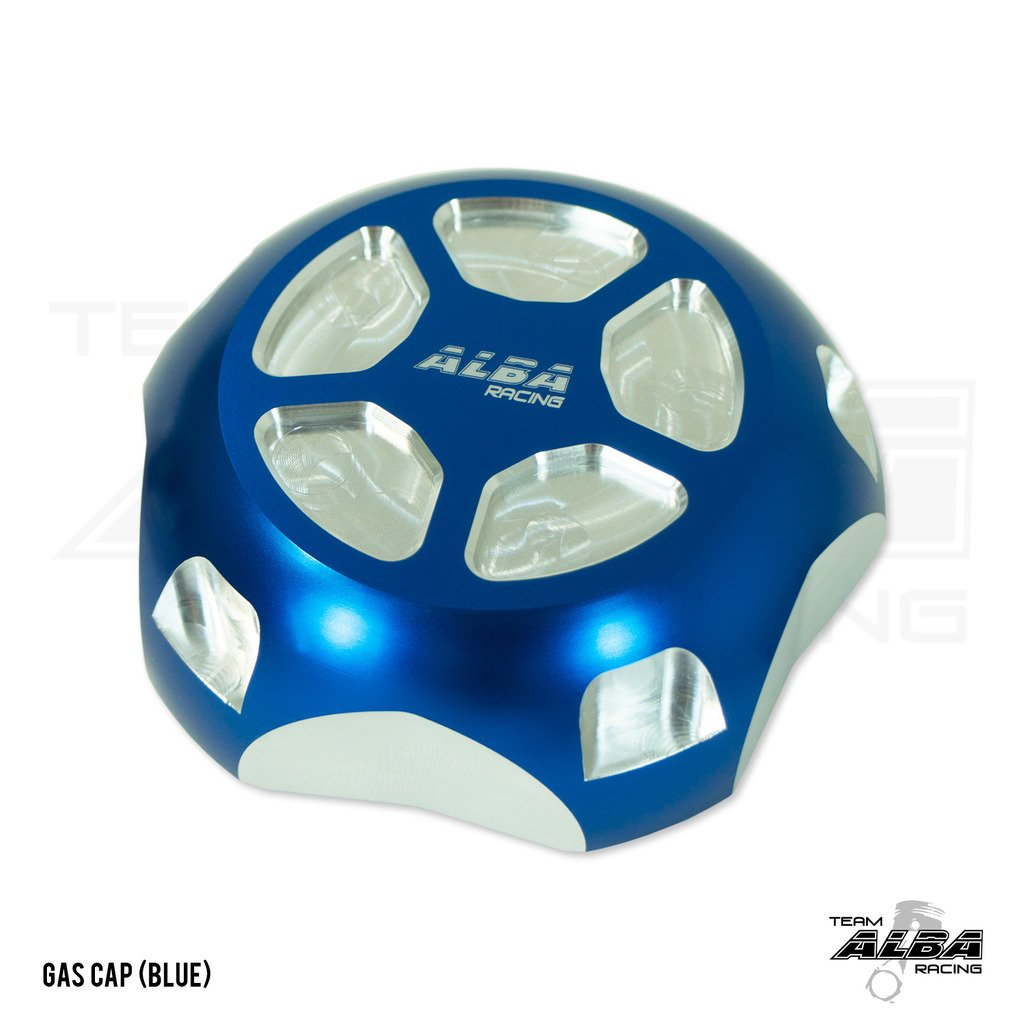 Polaris RZR XP1000 EPS (2014-2017) Gas Cap Billet Machined Blue / Silver (Available in Many Colors)