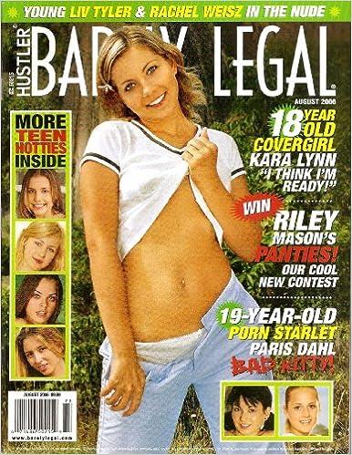 barely legal august 2001 hustler