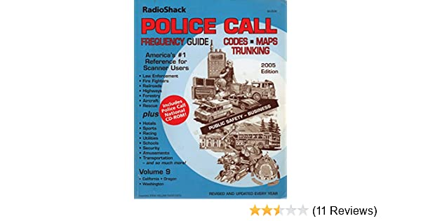 RadioShack Police Call Frequency Guide 2005 Edition (America's #1