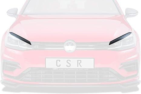 Csr Automotive Csr Sb191 G Scheinwerferblenden Set Schwarz Glänzend Glossy Passend Für Golf 7 Sb191 G Auto