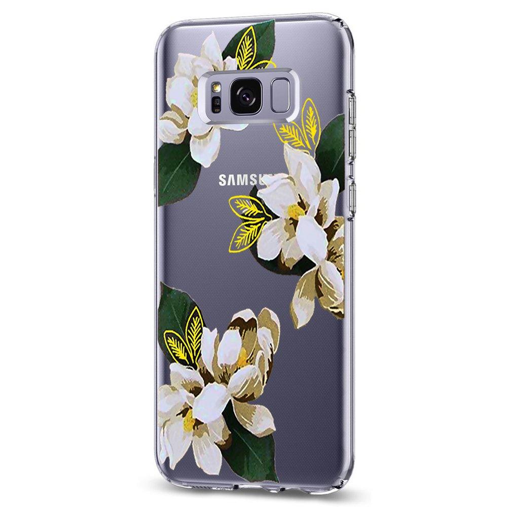 Cover Galaxy S8 Cases Trasparente Con Disegni Morbida Gel Silicone Tpu Samsung Galaxy S8 Plus Custodia Posteriore