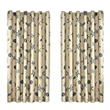 Diamondo Marine Biological Printing Cloth Balcony Bedroom Curtain Shade
