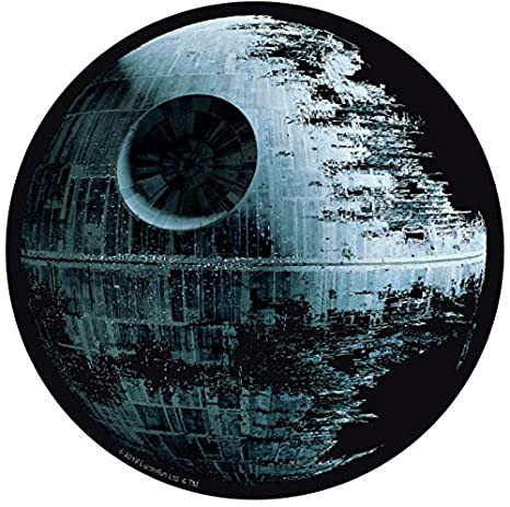 Star Wars Abyacc Muebles y Decoración Mouse Pad Negro Estrella