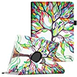 Fintie iPad mini 1 / 2 / 3 Case - 360 Degree Rotating Stand Case Cover with Auto Sleep / Wake Feature for Apple iPad mini 1 / iPad mini 2 / iPad mini 3, Love Tree