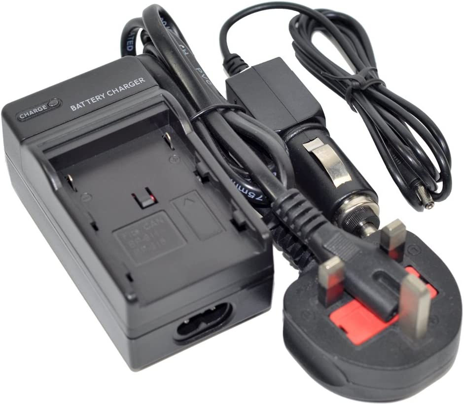 DB-60 Battery Charger AC//DC Wall//Car Single for ricoh BJ-6 BJ6 DB60 DB-65 DB60 G600 G700 G700SE GR Digital II III IV GX200