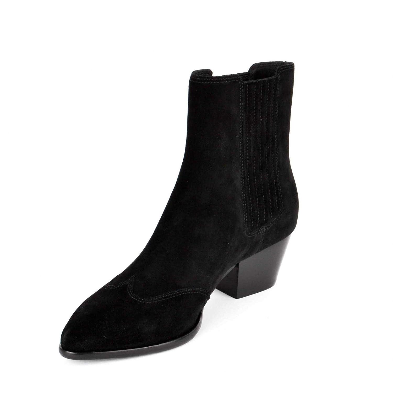 3450a1e21722 Ash Hook BIS Ankle Boots Black Suede 37 Black.  Amazon.co.uk  Shoes   Bags
