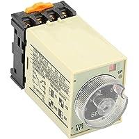 【𝐁𝐥𝐚𝐜𝐤 𝐅𝐫𝐢𝐝𝐚𝒚】wosume Power On fördröjningstid, ST3PA-B 0-10S effektfördröjning timer relä knapp kontroll tidrelä med bas…