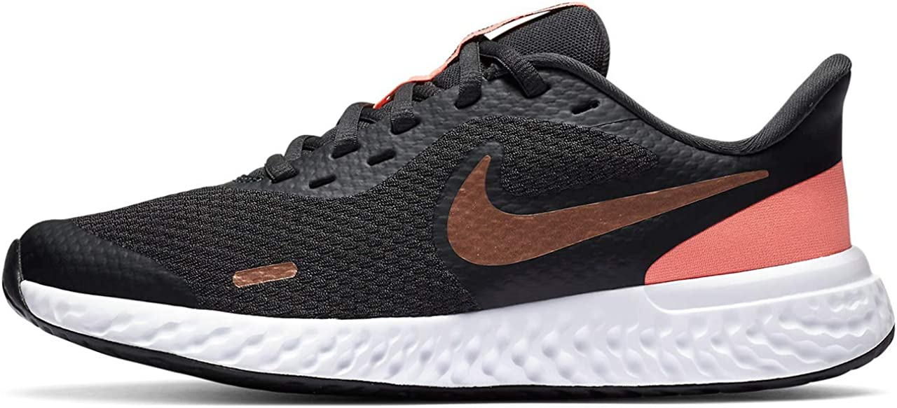 Nike Sales for Branded goods sale Unisex-Child Revolution 5 Shoe Running Grade School
