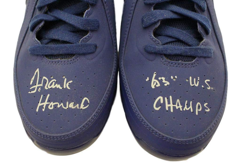 e3f87517fe741 Frank Howard Signed Los Angeles Dodgers Nike Blue Cleats 63 WS ...