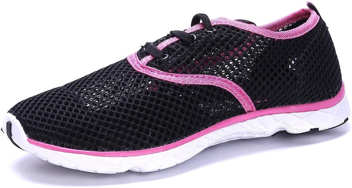 Amazon.com: Zapatillas de agua para mujer, impermeables ...