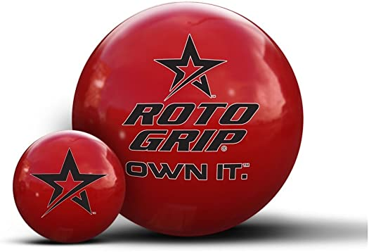Roto-Grip Own It Red Clear Polyester Bowling Balls