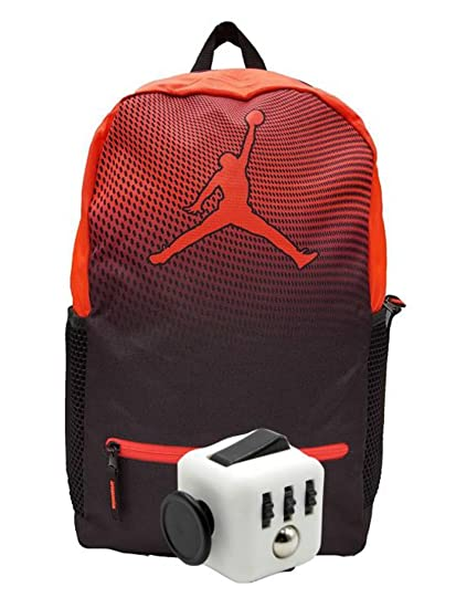 ac333526f253 Image Unavailable. Image not available for. Color  Nike Air Jordan Jumpman  Youth 23 Backpack Book Bag ...