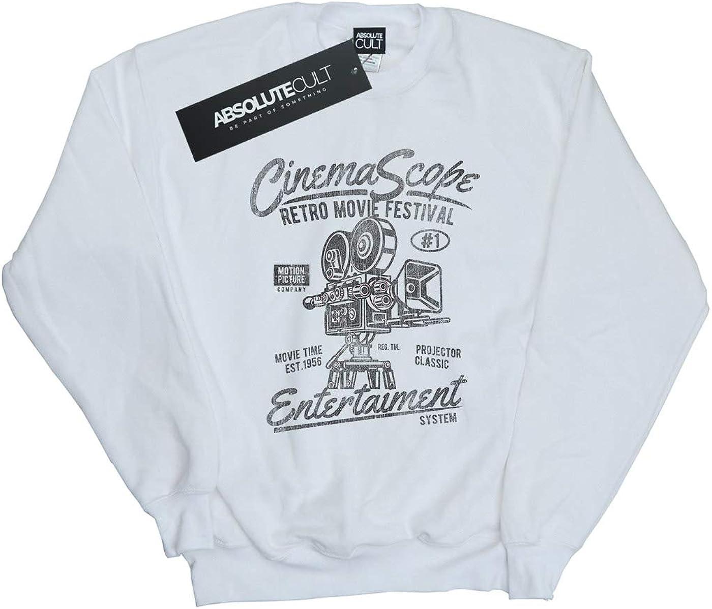 Absolute Cult Drewbacca Girls Cinema Scope Sweatshirt