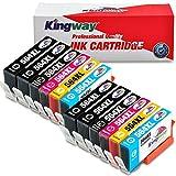 564XL Ink Cartridges, Kingway 12 Pack Compatible HP 564 XL Ink Cartridge Work with HP DeskJet 3520 3522 Officejet 4620 Photosmart 5520 6510 6515 6520 7520 7525 D7560