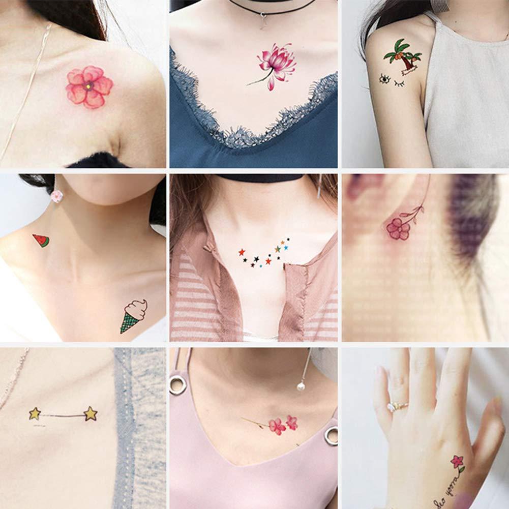 mujeres temporales tatuaje nette Kleine Cuerpo Pegatinas Tatuajes ...