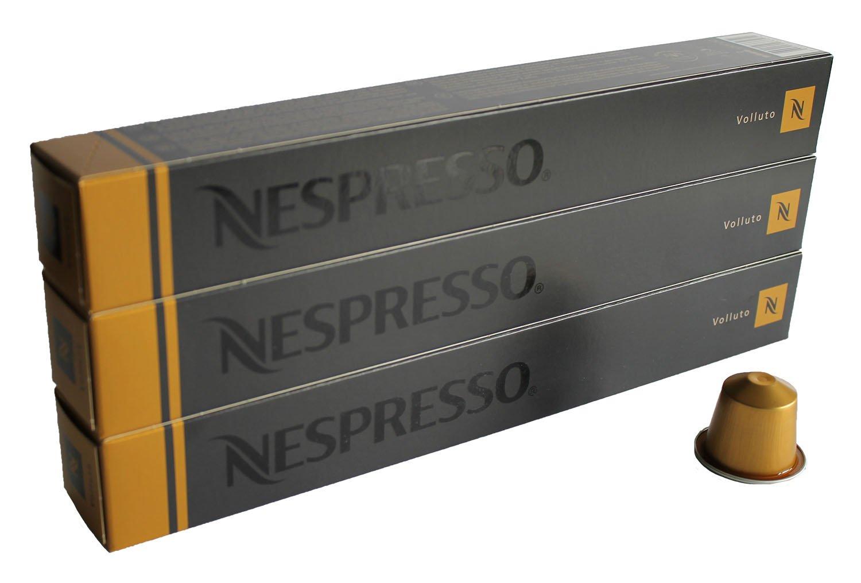 NESPRESSO Espresso Volluto – 30 Capsules