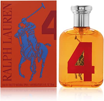 Ralph Lauren Polo Big Pony No.4 Men 75 Ml Eau De Toilette: Amazon ...