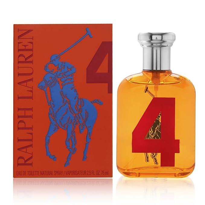 Ralph Lauren Polo Big Pony No.4 Men 75 Ml Eau De Toilette: Amazon ...