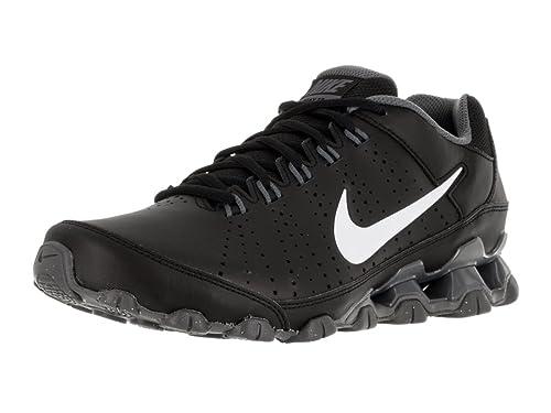 Nike Reax 9 TR, Zapatillas de Deporte para Hombre, Negro/Blanco/Gris