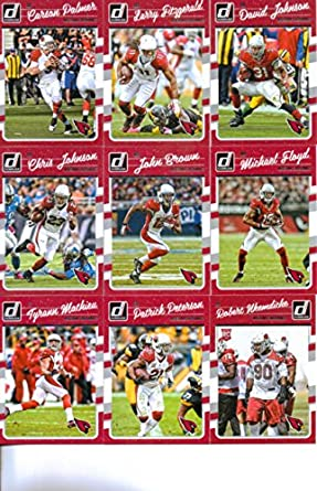 huge discount 51a2e 61eb0 Amazon.com: 2016 Donruss Football Arizona Cardinals Team Set ...