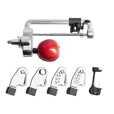KitchenAid RKSM1APC Spiralizer Attachment with Peel, Core & Slice (Renewed)