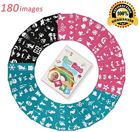 Maydear Face Paint Stencils Designs product image