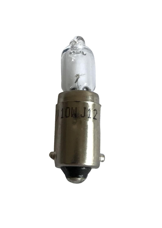 Melchioni 322199951 Lampada 12V 10W BA9S Alogena Set di 10