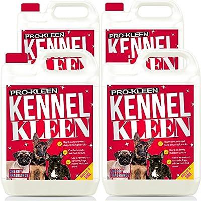 20L de pro-kleen alta concentración 2 en 1 Desinfectante de caseta & Deodoriser | unidades) fragancia cereza | utilizada por Veterinarios, ...
