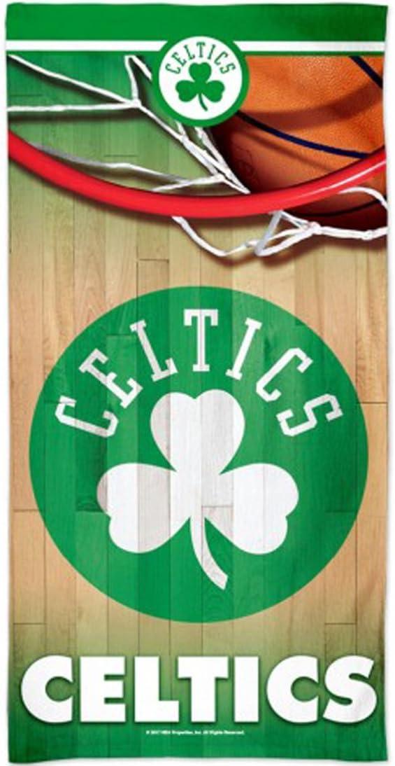 WinCraft Boston Celtics Beach Towel with Premium Spectra Graphics 30x60 inches