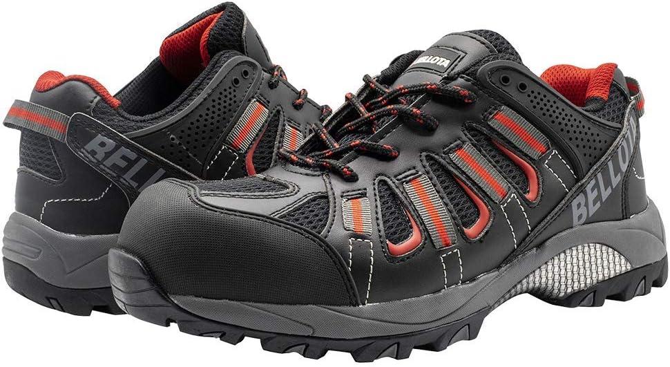 Bellota 72211N-42 Zapato Trail Negro S1P, Talla 42: Amazon.es: Bricolaje y herramientas