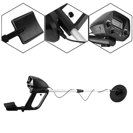 Ironheel Ligera Metal Buscador del Detector, detectores de Metales de Discos Intercambiables de Alta sensibilidad Bobina de búsqueda Impermeable, ...