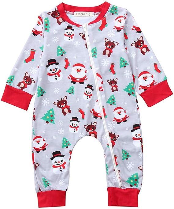POLP Niño Navidad Bebe Ropa Disfraz Conjunto Bebe niña Invierno ...