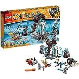 LEGO Legends Of Chima - Playthèmes - 70226 - Jeu De Construction - La Forteresse Glacée Du Mammouth
